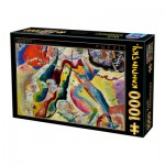 Dtoys-75116 Kandinsky Vassily: Painting with Red Spot