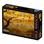 Dtoys-77431 Paul Ranson - Apple Tree with Red Fruit