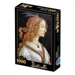 Dtoys-77615 Botticelli Sandro : Idealised Portrait of a Lady