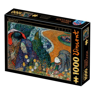 Dtoys-77714 Van Gogh Vincent : Memory of the Garden at Etten