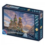 Dtoys-77776 Church of the Savior on Blood - Saint Petersbourg