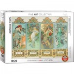 Eurographics-6000-0824 Mucha Alfons : Four Seasons