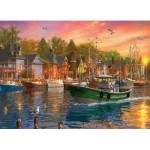 Eurographics-6000-0969 Dominic Davison - Harbor Sunset