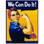 Eurographics-6000-1292 Rosie the Riveter: We Can Do It!