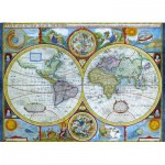 Eurographics-6000-2006 Carte du monde antique