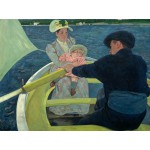 Grafika-00233 Mary Cassatt : The Boating Party, 1893-1894