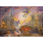 Grafika-T-00278 Josephine Wall - Magical Merry Go Round