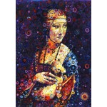 Grafika-T-00888 Leonardo da Vinci: Lady with an Ermine, by Sally Rich