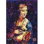 Grafika-T-00890 Leonardo da Vinci: Lady with an Ermine, by Sally Rich