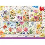 Jumbo-18812 Flower Stamps Summer