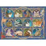 Jumbo-18853 Francien - Cat Horoscope