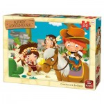 King-Puzzle-05789 Cow-Boys & Indians