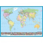 KS-Games-11332 Carte du Monde (en Turc)