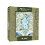 Master-Pieces-71707 Xplorer Maps - Lake Tahoe