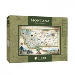 Master-Pieces-71708 Xplorer Maps - Montana