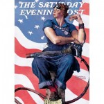 Master-Pieces-71805 Norman Rockwell - Rosie the Riveter