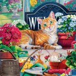 Master-Pieces-71947 Cat-ology - Blossom