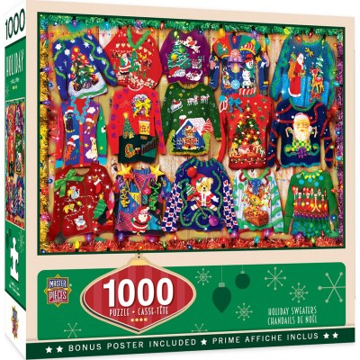 Master-Pieces-72056 Holiday Sweaters