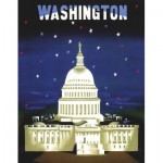 New-York-Puzzle-AA1702 The Capitol - American Airlines Poster Mini