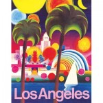 New-York-Puzzle-AA1973 Los Angeles - American Airlines Poster Mini