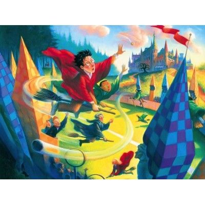 New-York-Puzzle-HP1361 Harry Potter - Quidditch