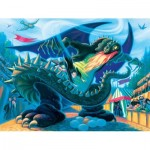 New-York-Puzzle-HP1371 Pièces XXL - Hungarian Horntail