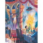 New-York-Puzzle-HP1718 Harry Potter - Christmas at Hogwarts