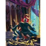 New-York-Puzzle-HP2161 Pièces XXL - Harry Potter - Unravelling Quirrell