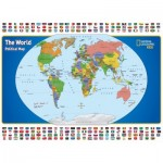 New-York-Puzzle-NG1702 Pièces XXL - National Geographic - The World Kids Map