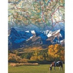 New-York-Puzzle-NG1964 Rocky Mountains Mini