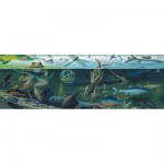 New-York-Puzzle-NG1982 Pièces XXL - Freshwater Ecosystem