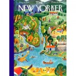 New-York-Puzzle-NY186 Pièces XXL - Summer Vacation