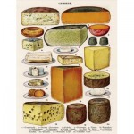 New-York-Puzzle-PD2016 Pièces XXL - Vintage Images - Cheese