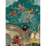 New-York-Puzzle-SW2012 Pièces XXL - Transit Posters - Starbright