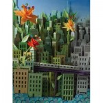 New-York-Puzzle-SW2014 Pièces XXL - Transit Posters - Smarter Greener Better