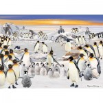 Otter-House-Puzzle-74135 Penguin Party