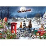 Otter-House-Puzzle-75099 Christmas Delivery