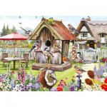 Otter-House-Puzzle-75374 Pièces XXL - Feathered Friends