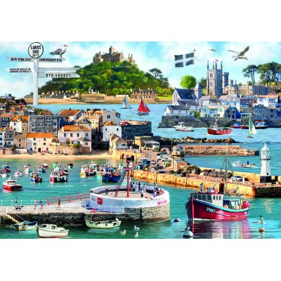 Otter-House-Puzzle-75827 Cornwall Montage