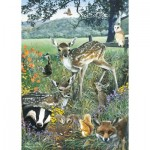Otter-House-Puzzle-75836 Woodland Friends