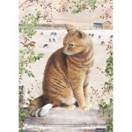 Otter-House-Puzzle-75838 Christmas Cat