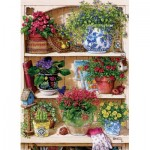 Cobble-Hill-85015 Pièces XXL - Flower Cupboard
