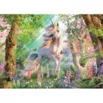 Cobble-Hill-85084 Pièces XXL - Unicorn in the Woods