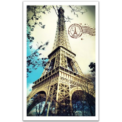 Pintoo-H1485 Puzzle en Plastique - France, Paris : La Tour Eiffel