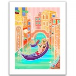 Pintoo-H1537 Puzzle en Plastique - Romantic Vacations - Venice