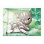 Pintoo-H1594 Puzzle en Plastique - A Chilly Day