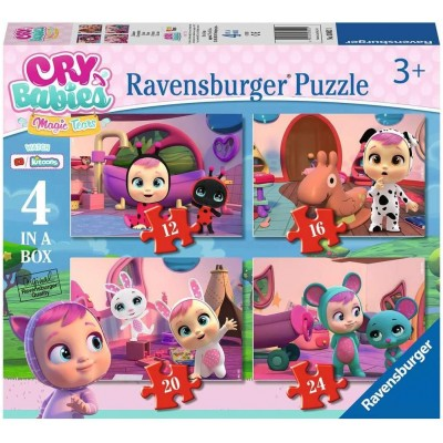 Ravensburger-03052 4 Puzzles - Cry Baby