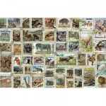 Ravensburger-17079 Timbres Animaliers