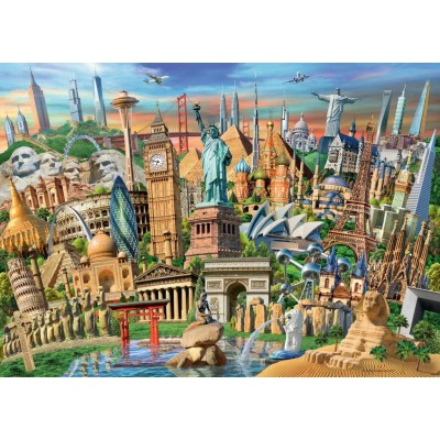 Ravensburger-19798 World Landmarks