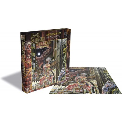 Zee-Puzzle-22878 Iron Maiden - Somewhere in Time